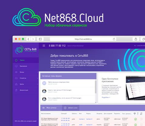 Набор облачных сервисов Net868.Cloud